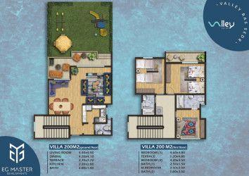Villas in Valley Red Sea resort