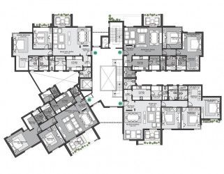 Apartments 156 meters in  Eastown Compound New Cairo.