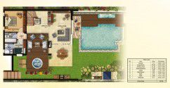 313 meter villa plan in Mountain View Chillout Park Compound