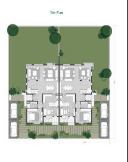 Twin House  Master Plan in Villette Compound.