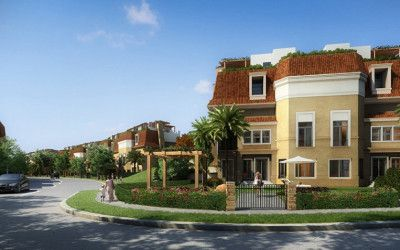 Villas in Sarai El Mostakbal City compound