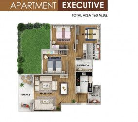 Apartments in Mountain view icity New Cairo.