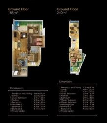 Design 185 meter apartment in Midtown New Cairo