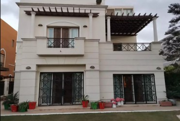 With an area of 330 meters Townhouse in Belle Vie Compound
