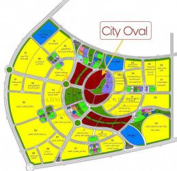 Villa In City Oval New Capital 360m