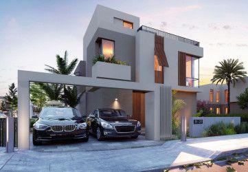 Villas in Sodic East New Heliopolis Compound.