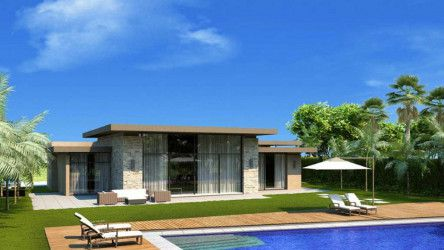 Villa In Swan Lake