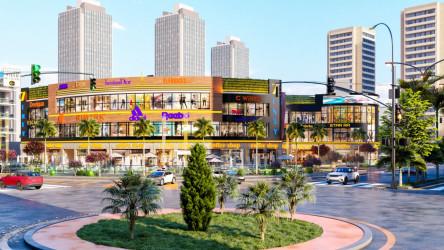 المحلات داخل مول سفنتي العاصمة الإدارية