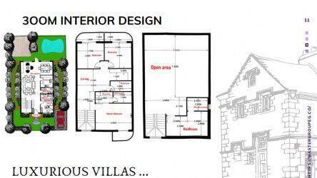 Villa In City Oval Compound