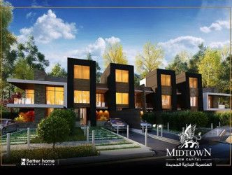 Townhouse With Area 300 m² in Midtown New Capital