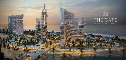 3 Bedrooms Chalets for sale in New Alamein Towers 120m²