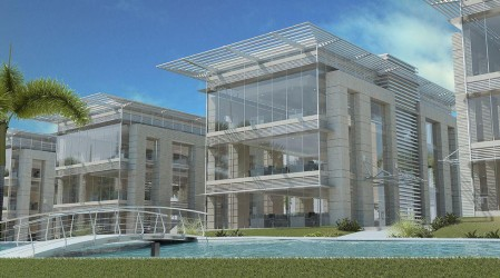 Administrative units for sale in Cairo Business Park Mall