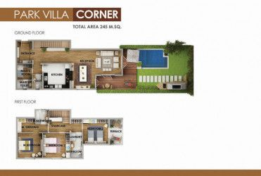 Villas in Mountain View Icity New Cairo.