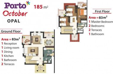 Twin House 185 meters in Porto October