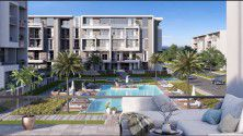 Apartments with Garden 210 m² in El Patio ORO Compound New Cairo.