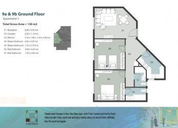 .شقة مساحة 120 متر في كمبوند الموندو العاصمة الادارية الجديدة