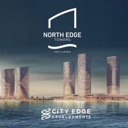 Apartments in North Edge New Alamein.