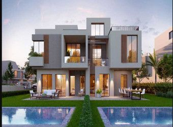 Townhouse with different areas in Sodic East Heliopolis