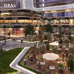 Shop with area 105m² in Opal Business Complex