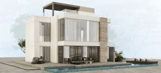 Villa with Swimming Pool in Fanadir Bay