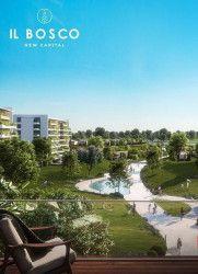 Apartments in IL Bosco compound new administrative capital.