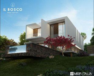 Villa with Area of 150 M in IL Bosco New Capital.