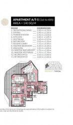 .شقة في كمبوند روزس العاصمة الجديدة بمساحة 140 متر