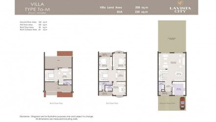 Town House 276 m² in La Vista City New Capital.