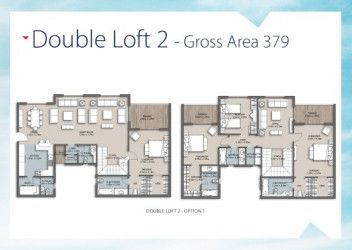 Duplex with Garden for Sale in The Loft Compound New Capital.