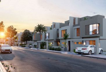 Twin House With Garden in SODIC EAST New Heliopolis.