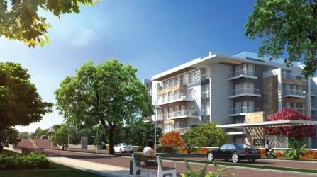 بكمبوند ماونتن فيو أي سيتي أكتوبر شقة للبيع بمساحة 110 متر