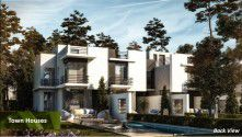Twin house with area 279 m² in IL Bosco New Capital.