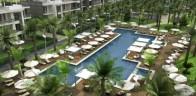 Aroma Beach resort.