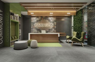 Administrative office in Paragon Mall