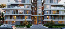 Twinhouse With Area 302 m² In Sky Condos