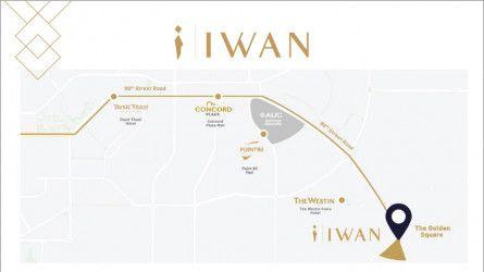 شقة بمساحة 126 متراً في جادة إيوان