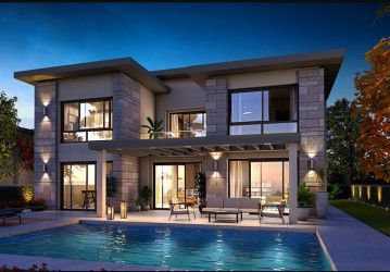 Duplexes in Swan Lake Residence Compound