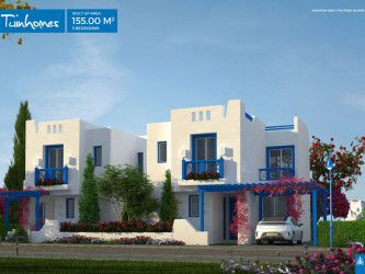 Twin House in Mountain View Ras El Hekma