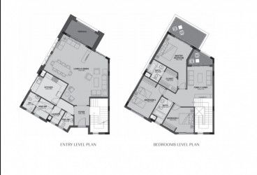 دوبلكس بمساحة 371 متر في أب تاون كايرو