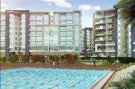 Properties and swimming pool in Capital Heights 2