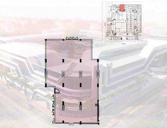 عيادة في مول اوزون الطبي القاهرة الجديدة بمساحة 48 متراً