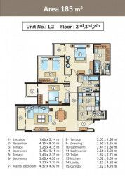 Apartments for sale in Golden Yard compound towers
