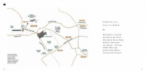 .توين هاوس ذا استيتس الشيخ زايد بمساحة 291 متراً