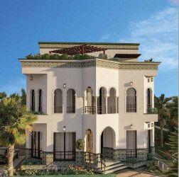 Villa with an area of 280m in La Verde compound