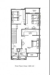 Internal division for First Floor Town House 199 m in Hyde Park Compound.