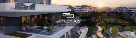 شقة سكاي كوندوز القاهرة الجديدة  بمساحة 160 متراً