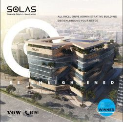 Offices for sale in Solas New administrative capital