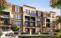 Apartments with an area of 122 m² in Sarai El Mostakbal City compound