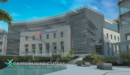 For sale in Cairo Business Park Mall Office With An Area of 1355 meters