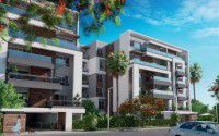 Apartment with area 206 meters in Capital Gardens Palm Hills